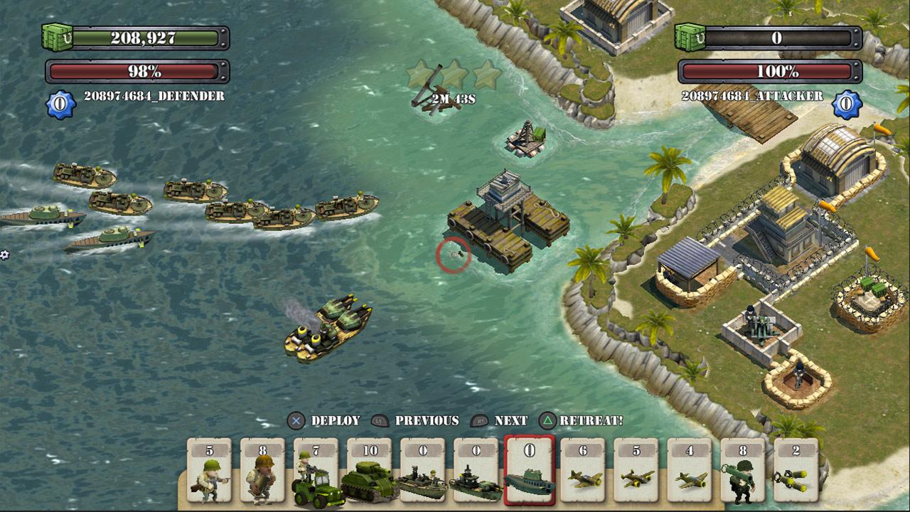 El Juego Free To Play De Accion Y Estrategia Battle Islands Avanza