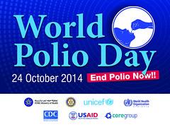 World Polio Day 2014 banner