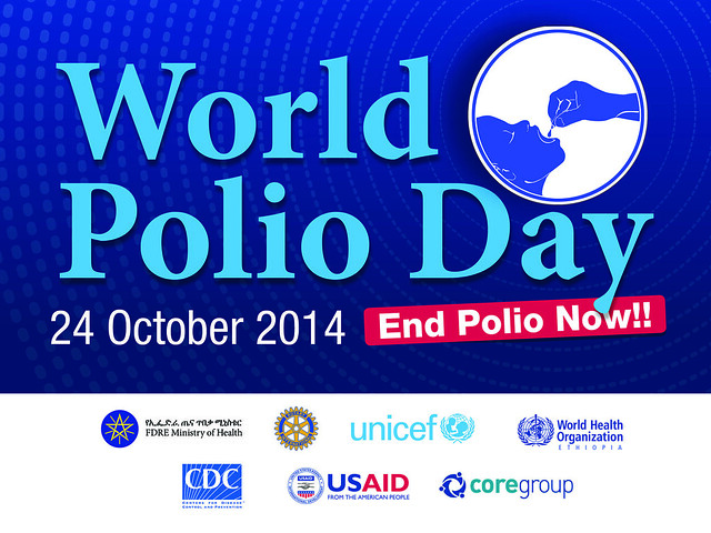 World Polio Day 2014 banner