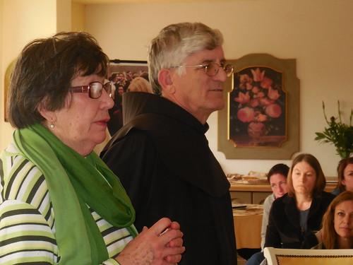 Fr. Petar with Marija Medjugorie 060