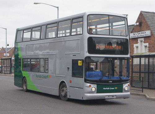 Stagecoach Norfolk Green 17787 LX03 BWA