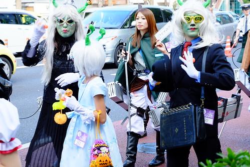Kawasaki Halloween parade 2014 59