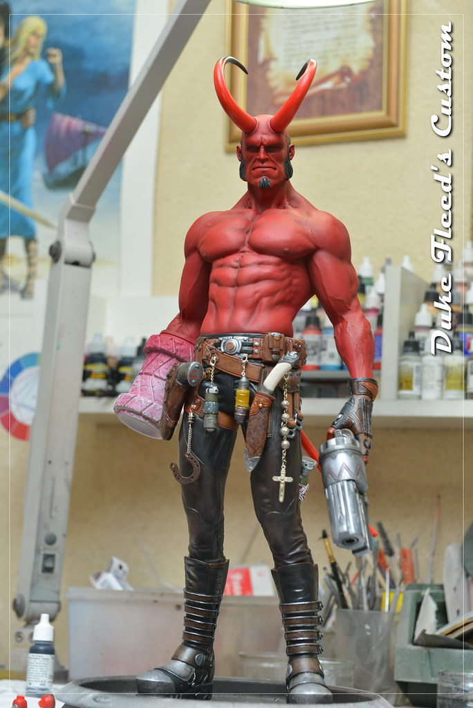 Hellboy 1/4 by Narin  15448891568_354119eb52_b