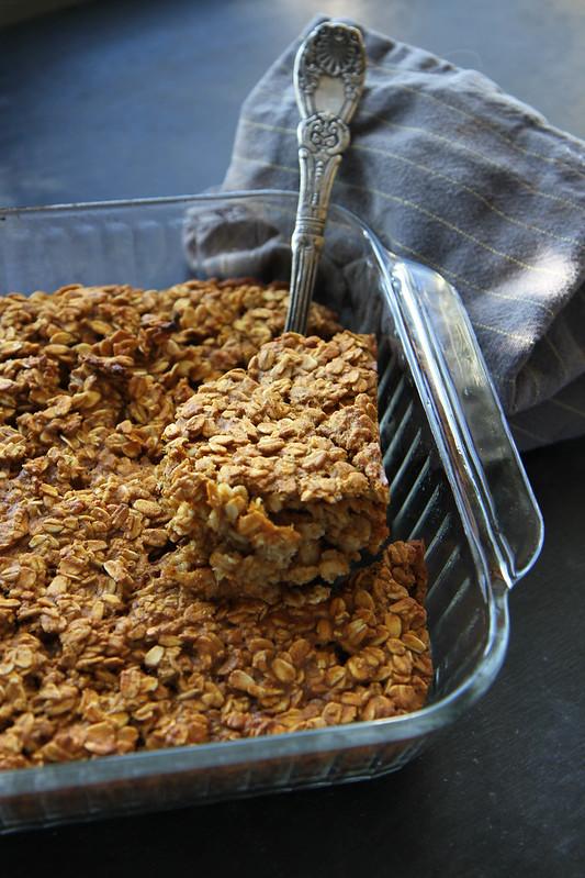 Baked Pumpkin Oatmeal (Vegan and GF)