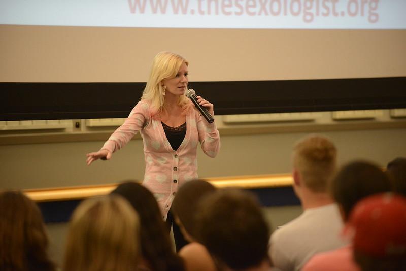 """Dr. Jill McDevitt, famed sexologist, comes to campus, talks """"virgins and sluts"""""""