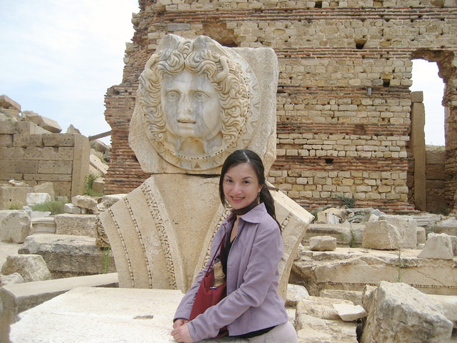 Veronica in libya_Beautune with Medusa