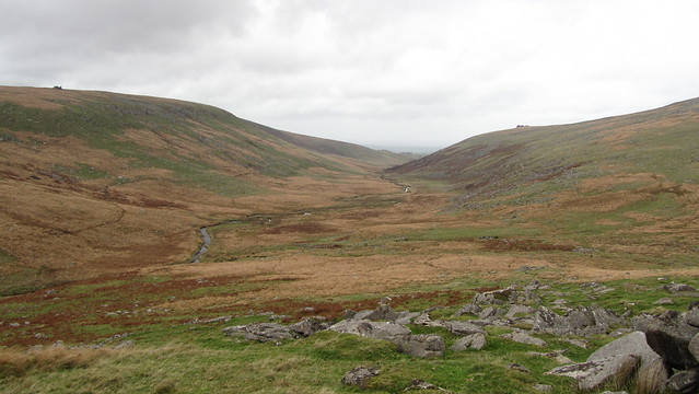West Okement Valley from Lints Tor