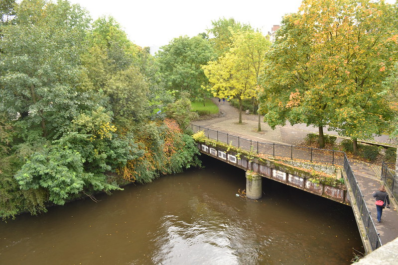 Old railway bridge over River Kelvin