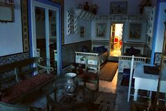 Wnętrze tradycyjnego arabskiego domu w Sidi Bou Said