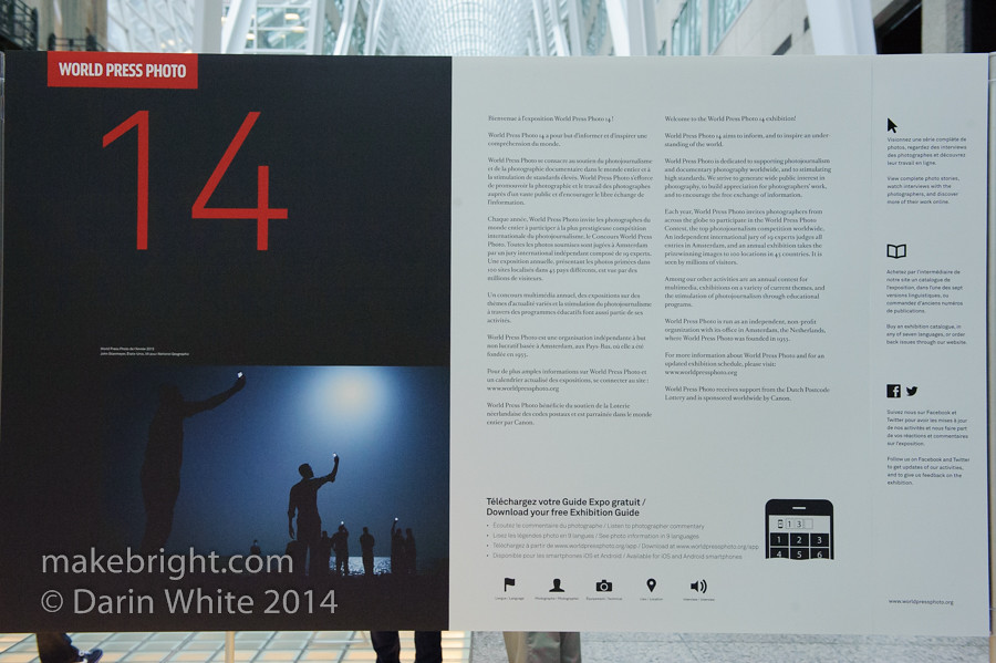 World Press Photography Show 2014 - Toronto 068