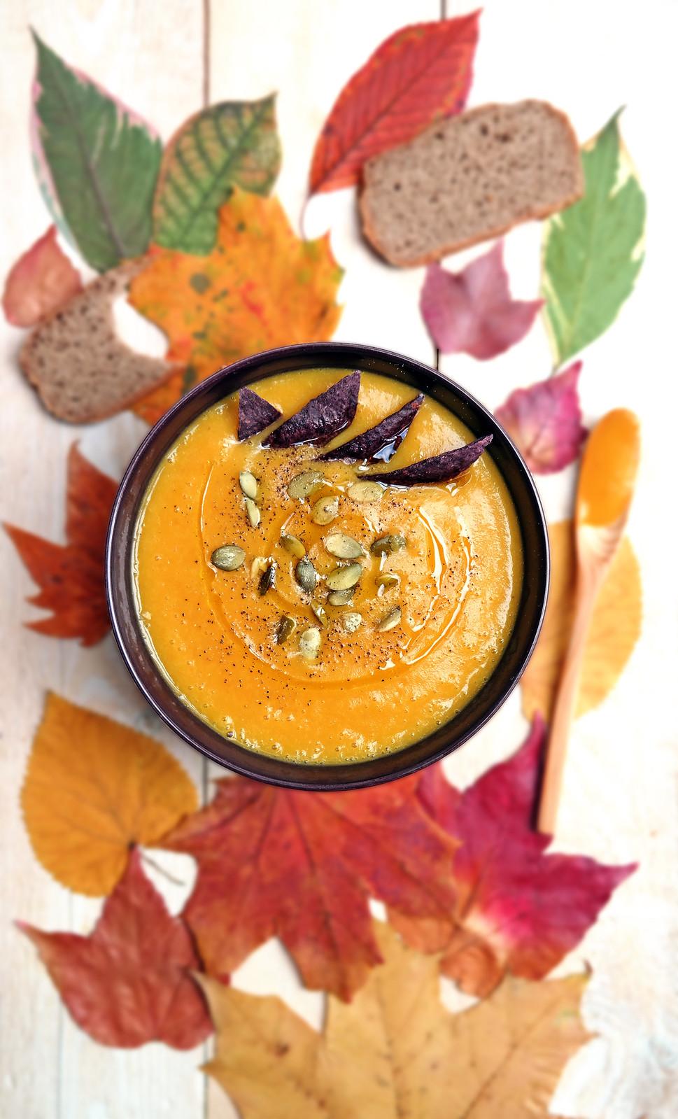 Pumpkin velvet sauce