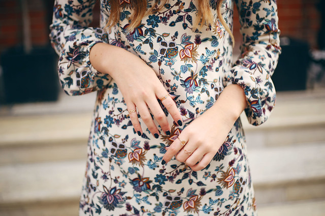 Zara Paisley Dress Seventies Style What Olivia Did