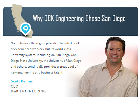 Why D&K Engineering Chose San Diego