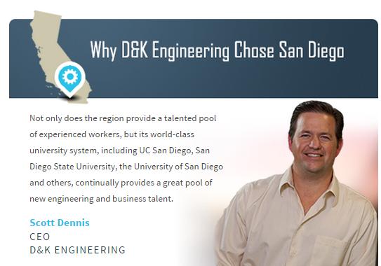 Why D&K Engineering Chose San Diego