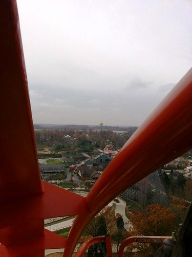 From on top of Thunderbird's Immelmann