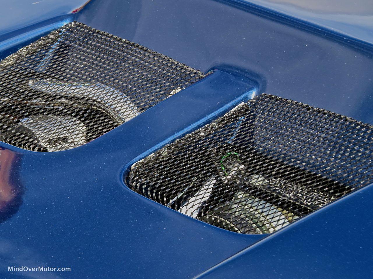 IMSA Mustang Hood Vents