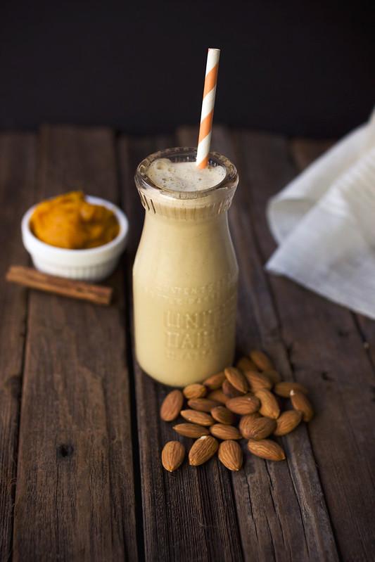 Pumpkin Spice Almond Milk