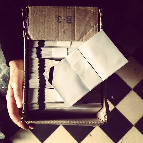Envelopes de luto #mosaicohidráulico