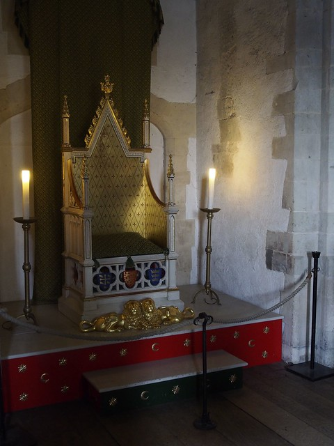Tower of London, London, England, travel, Throne Room