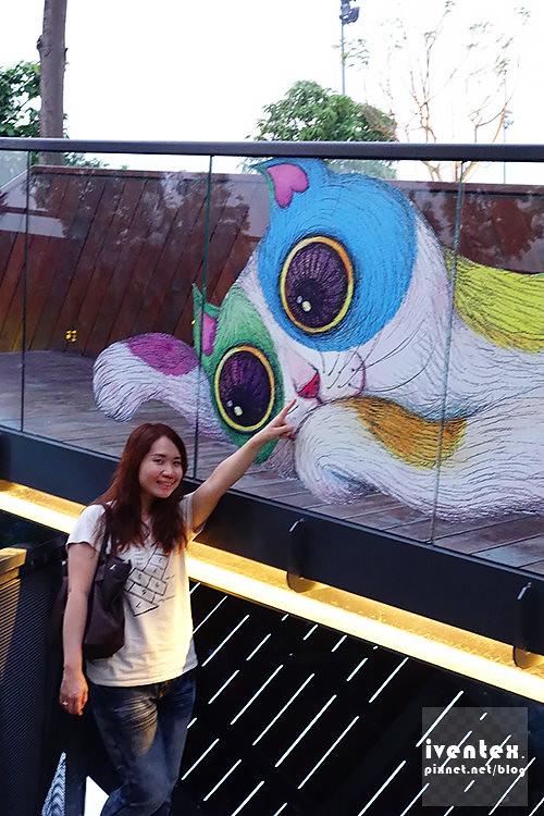 22刀口力台南善化南科幾米裝置藝術小公園