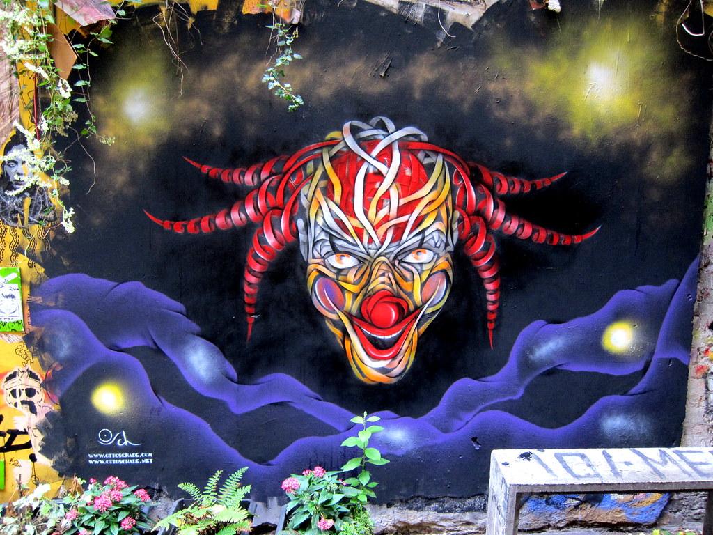 graffiti   otto schade   berlin . haus schwarzenberg
