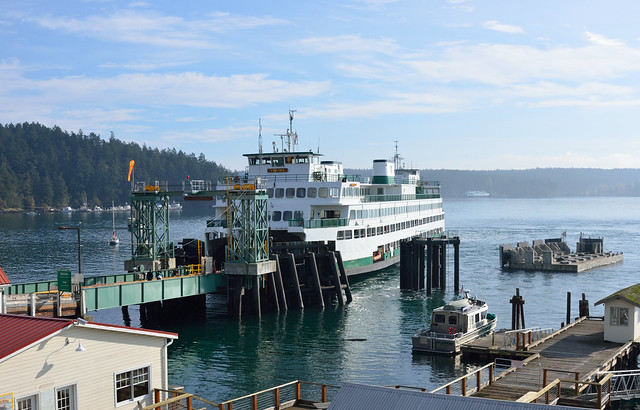 Orcas Ferry Terminal and the Yakima