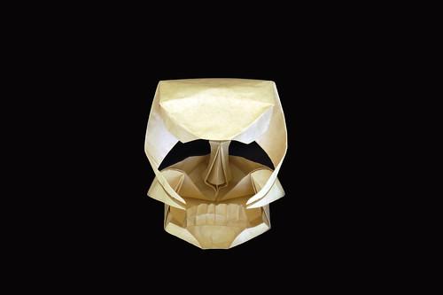 Origami 'Magical Skull'  (Herman van Goubergen)