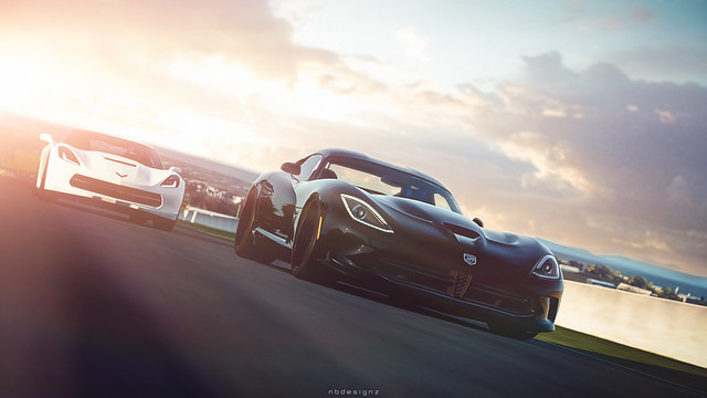 Dodge SRT Viper GTS '13 - Chevrolet Corvette Stingray (C7) '14 - SRT Viper SRT10 ACR '08