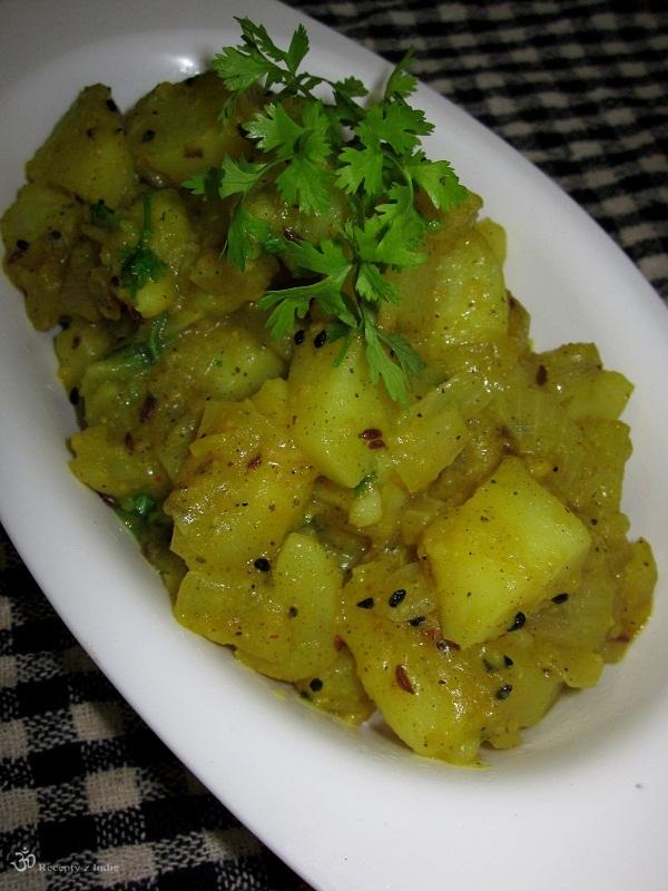 zemiaky s kari listkovym korenim 017