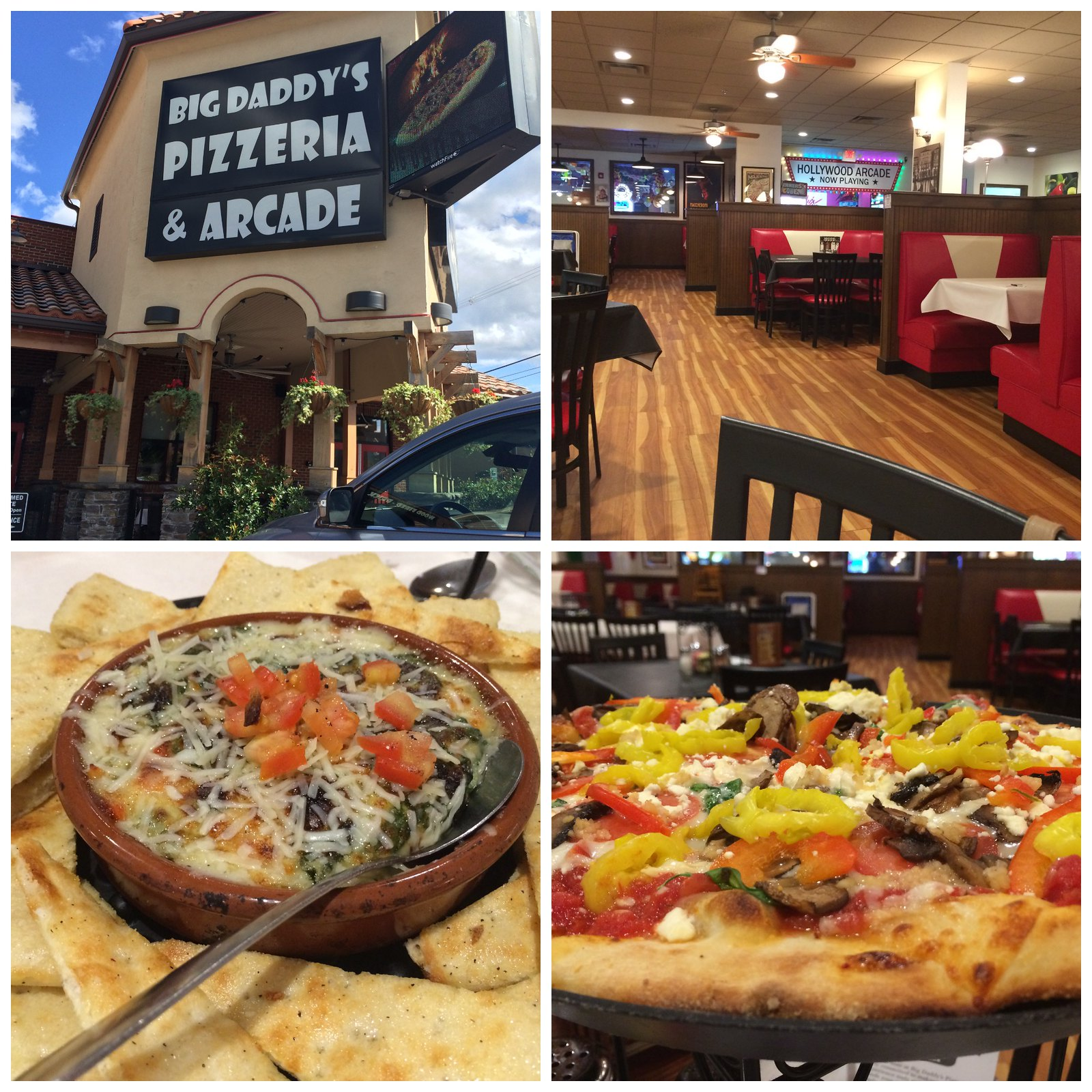 big Daddy's pizzeria Collage