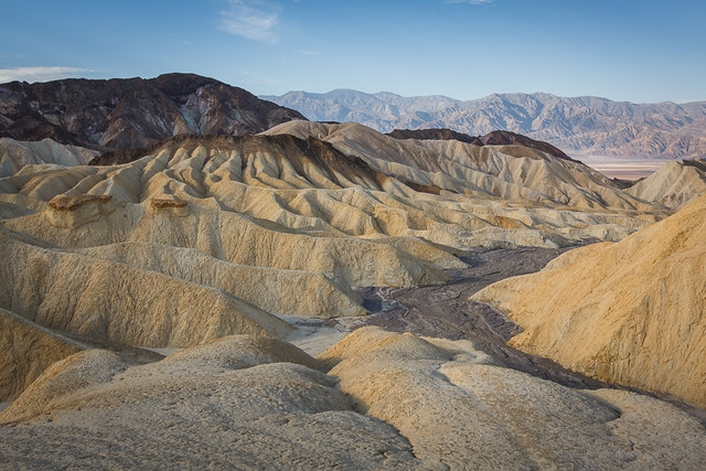 Zabriskie Point Morning Light