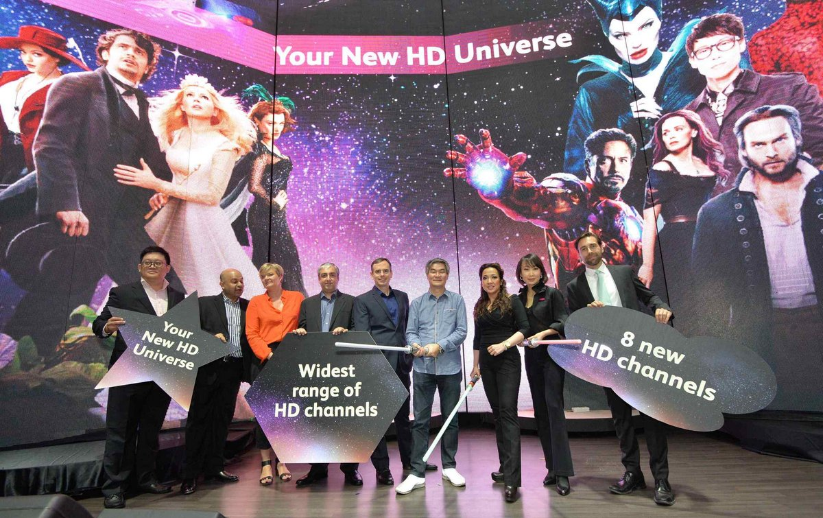 Launch of Astro's 10 New Channels