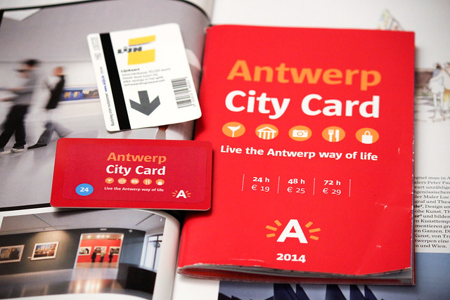 Antwerp City Card & The Lijn Ticket