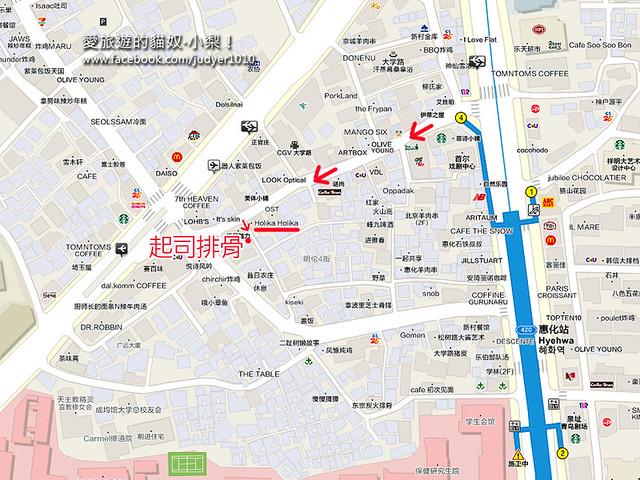 惠化地圖 -1