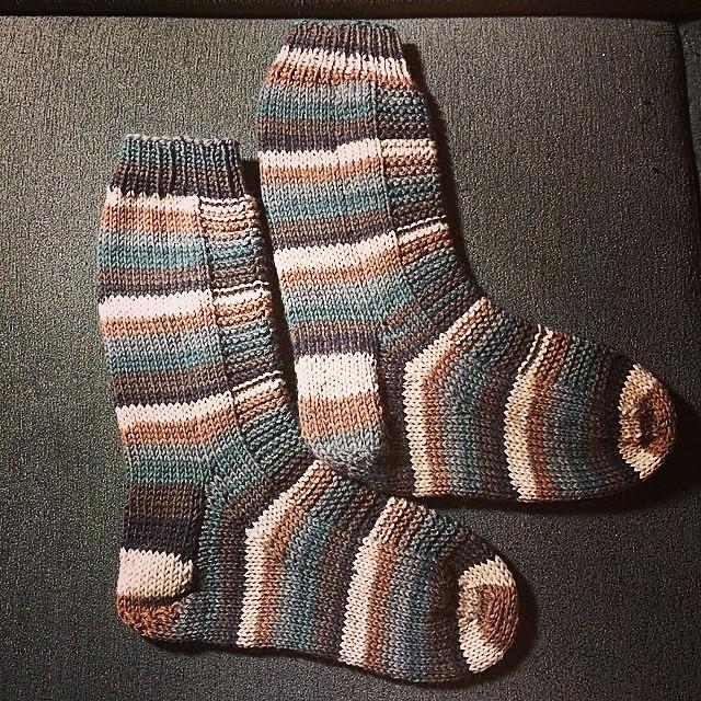 Socks! #knitting #novita #socks