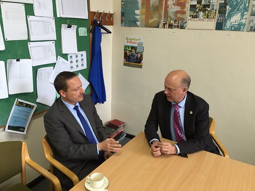 Rt Hon Chris Grayling MP at Greenhead College