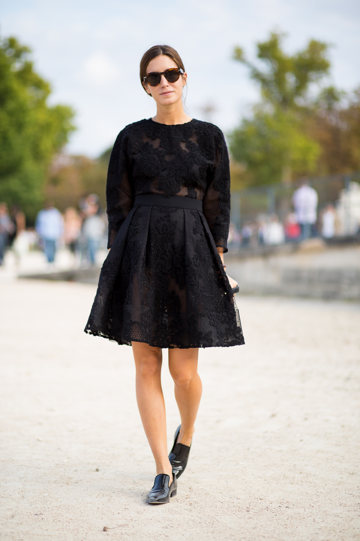 Look of the Day.383: Tulleries during PFW