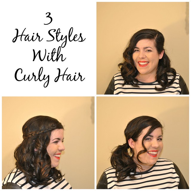 3hairstyleswithcurlyhair
