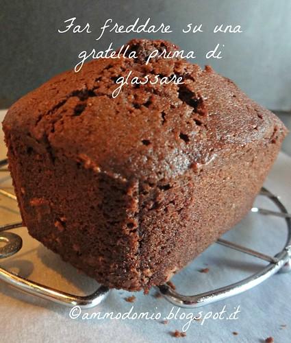 Cake au cholate et fleur de sel
