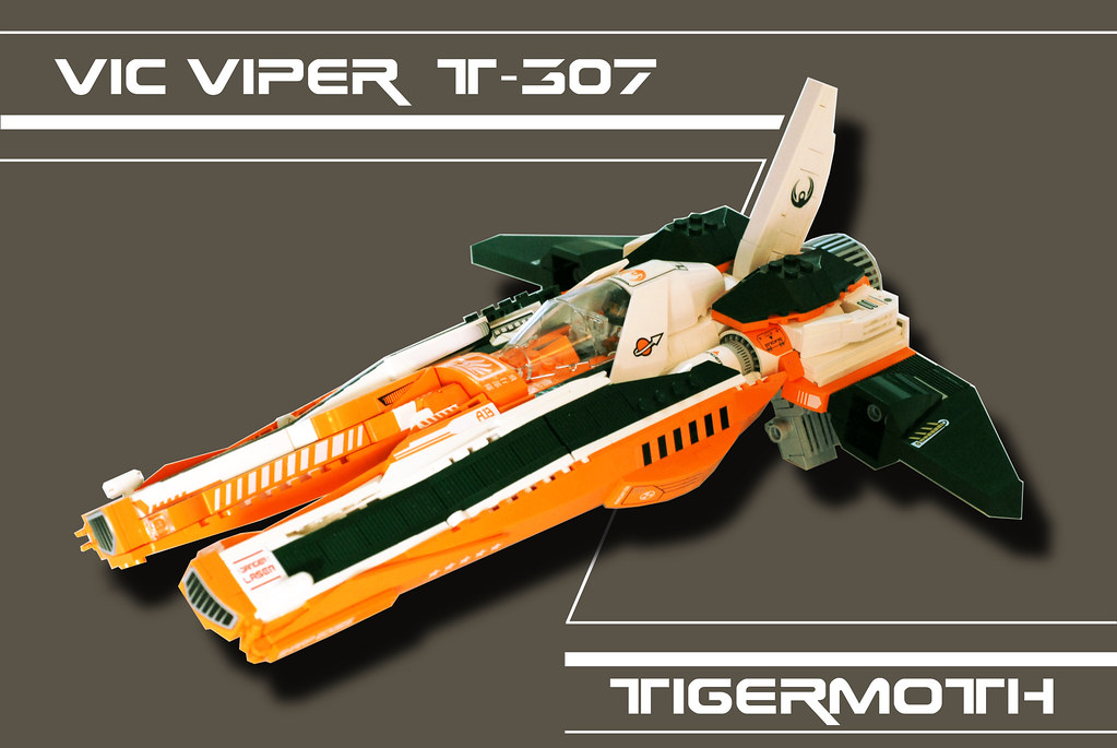 TigerMoth (custom built Lego model)