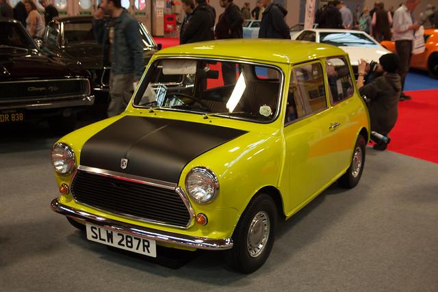 Mr Beans Austin Mini Replica