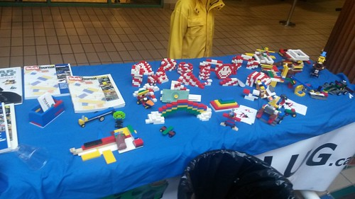 Kidbuild display at fundraiser