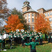 band in front of T. Berry by CentralMethodistUniversity