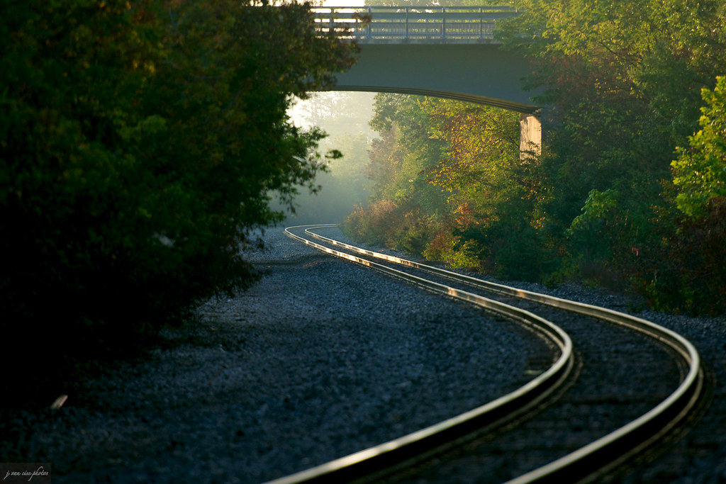 rhythm of the rails ~ Huron River and Watershed