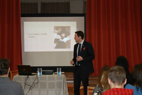Lecture by Head of the Mission, British Embassy Riga Iain Frew