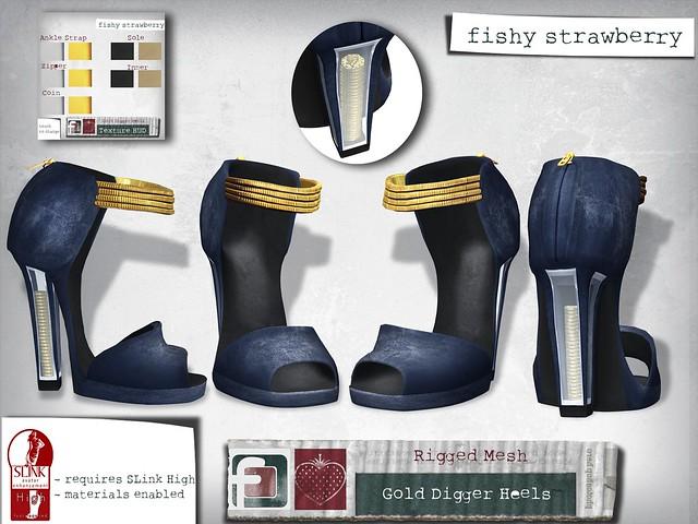 Gold Digger Heels