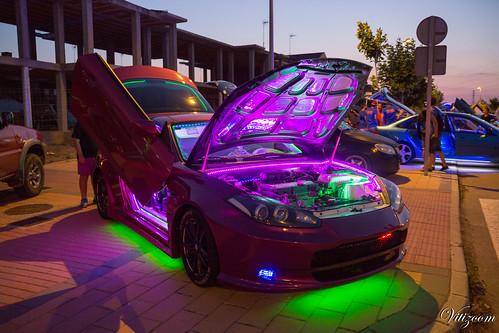 coche de luces