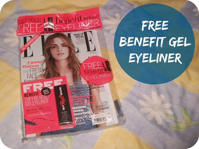 Magazine Freebies December 2014 UK Benefit Eyeliner