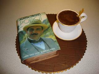 Coffee & Book Cake