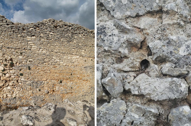 castillo ucero_soria_visita monumentos restauracion_IPCE_construccion_tongadas_tapia